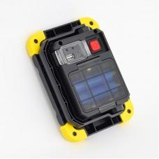 Ledes Hordozható Reflektor 20W Akkumulátoros és Elemes 220v és Autós Töltővel Powerbank Funkcióval