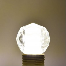 Led Gömb Izzó Kristály 5w E14 4200K Természetes Fehér